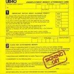 Signing Off - UB 40