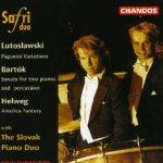 Lutoslawski, Bartók, Helweg - Safri Duo