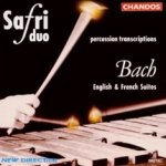 Percussion Transcriptions - Bach: English And French Suites - Safri Duo