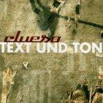 Text und Ton - Clueso