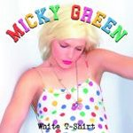 White T-Shirt - Micky Green