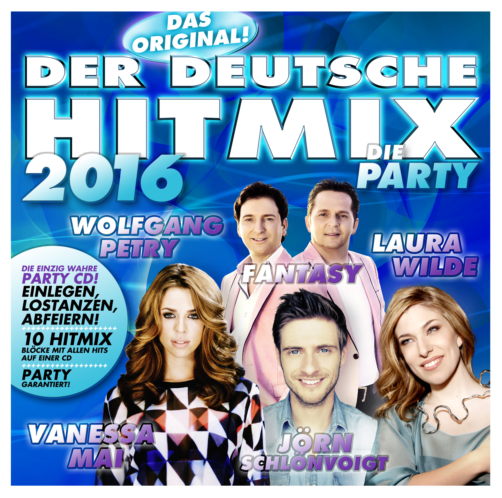 Der deutsche Hitmix - Die Party 2016 - Sampler