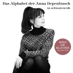 Das Alphabet der Anna Depenbusch in Schwarz-Weiß - Solo am Klavier - Anna Depenbusch