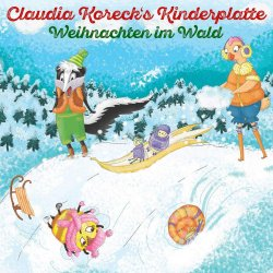 Claudia Korecks Kinderplatte - Weihnachten im Wald - Claudia Koreck